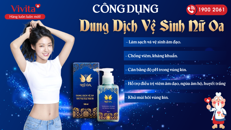 dung dich ve sinh nu oa