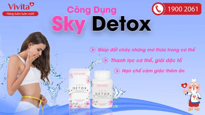 công dụng sky detox