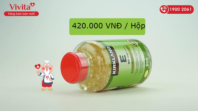 vitamin e kirkland 400 iu