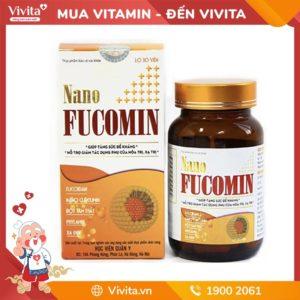 Nano Fucomin - Hỗ trợ Điều Trị và Ngăn Ngừa Ung thư, U bướu