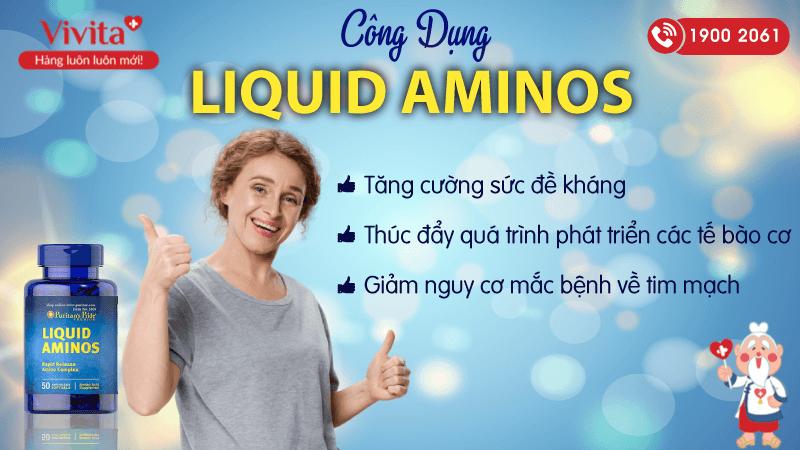 công dụng liquid aminos