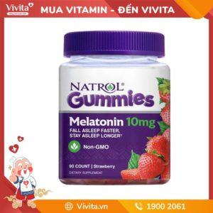 Kẹo NgủNatrol Melatonin - Giúp Bạn Có Giấc Ngủ Ngon