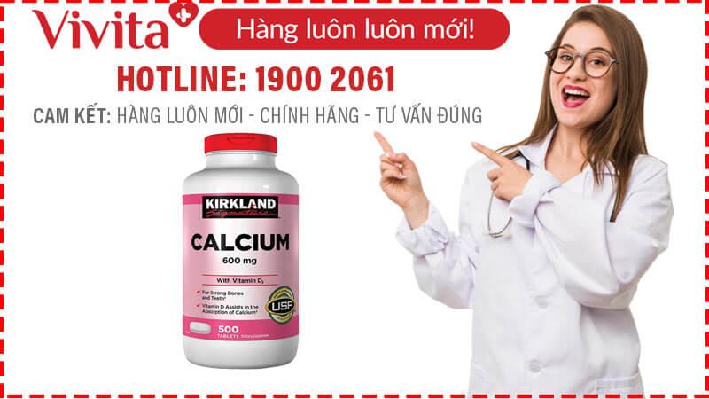 mua vien uong bo sung canxi calcium kirkland 600mg d3 o dau