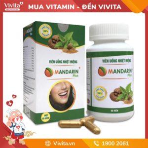 Nhiệt Miệng Mandarin Plus - Thảo Dược Thanh Nhiệt Miệng Hiệu Quả