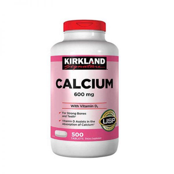 vien uong bo sung canxi calcium kirkland 600mg d3