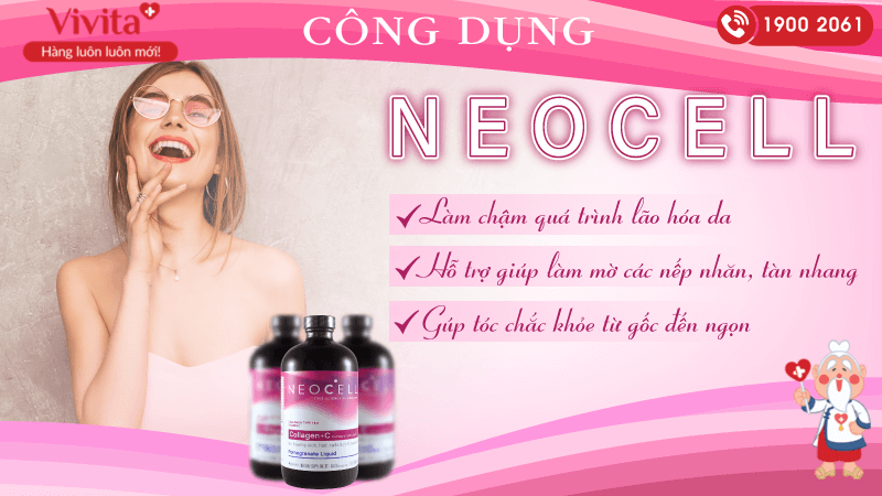 công dụng collagen c neocell lựu