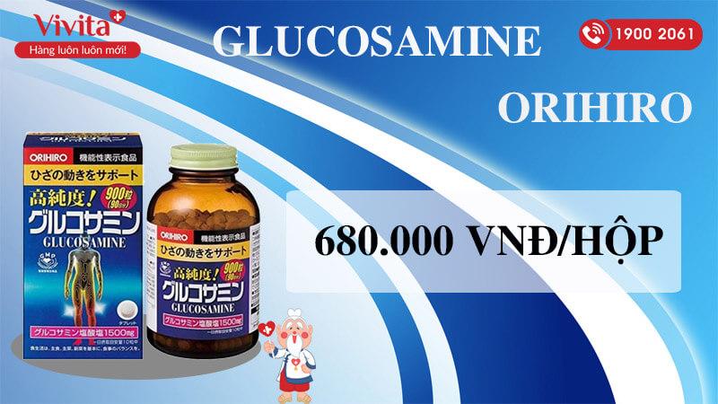 glucosamine 1500mg orihiro giá bao nhiêu