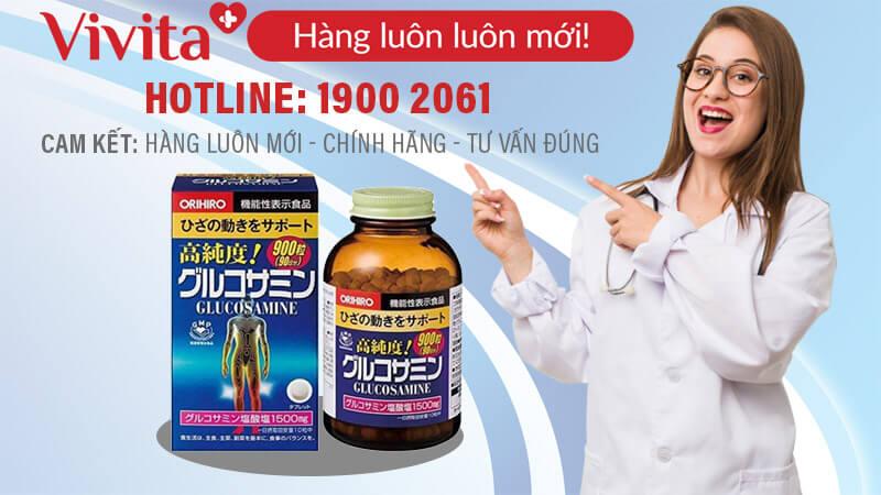 glucosamine 1500mg orihiro mua ở đâu