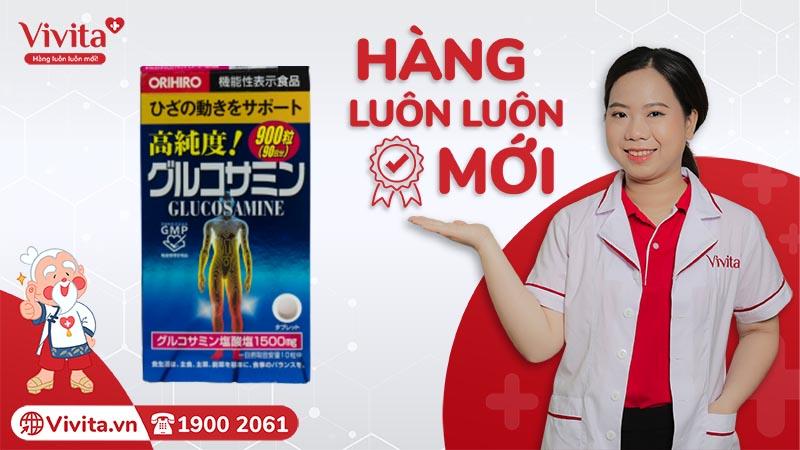 Orhiro Glucosamine chính hãng hàng mới tại VIVITA
