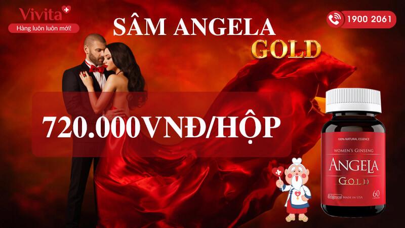 sâm angela gold giá bao nhiêu