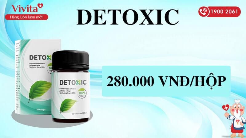 viên uống detoxic giá bao nhiêu