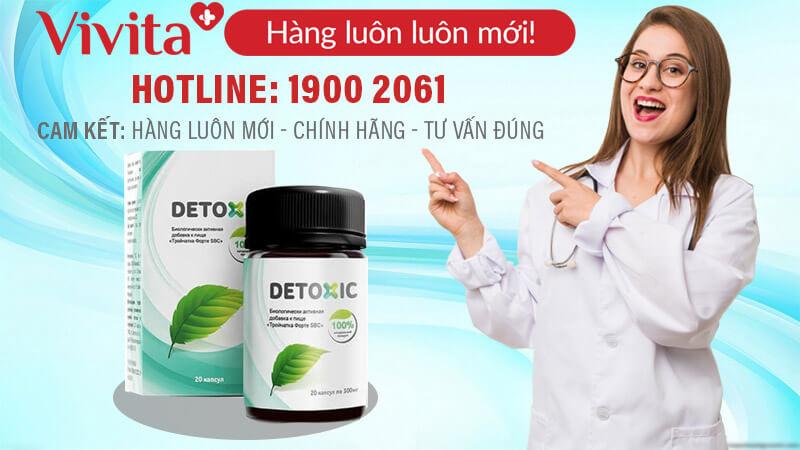 viên uống detoxic mua o dau