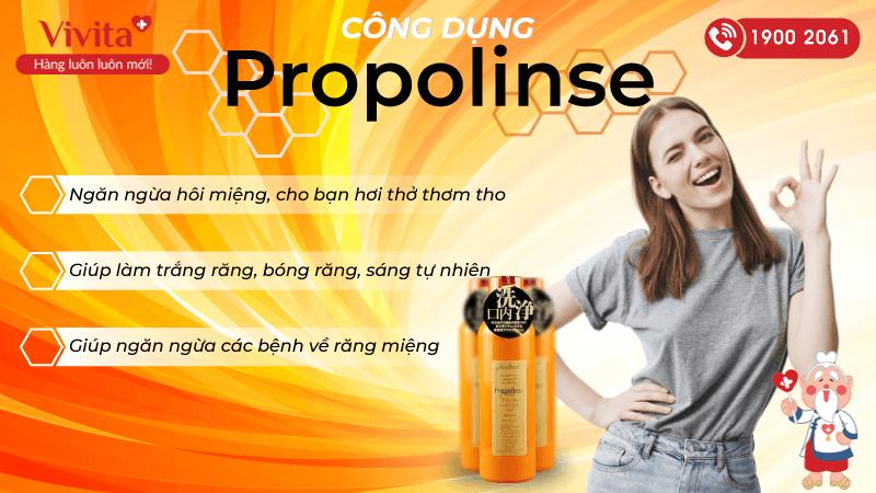 công dụng propolinse
