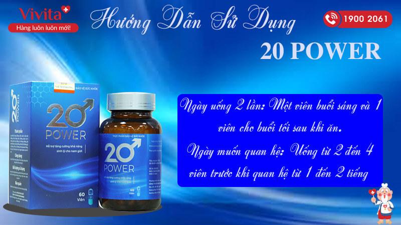 huong dan su dung 20 power