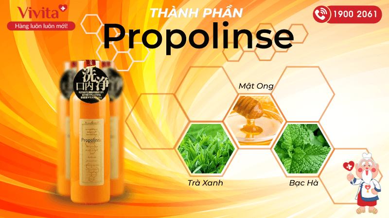 thành phần propolinse
