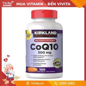 Kirkland CoQ10 - Viên Uống Bảo Vệ và Duy Trì Sức Khỏe Tim Mạch Từ Mỹ