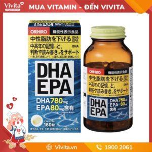 Viên Uống Bổ Não DHA EPA Orihiro- Giúp Não Phát Triển Toàn Diện
