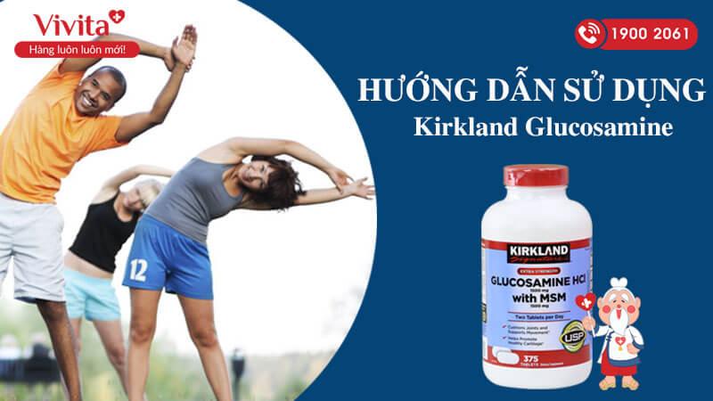 hướng dẫn sử dụng kirkland glucosamine hcl 1500mg