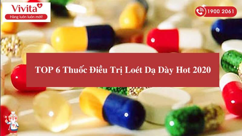 thuốc điều trị loét dạ dày
