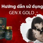 hướng dẫn sử dụng gen x gold