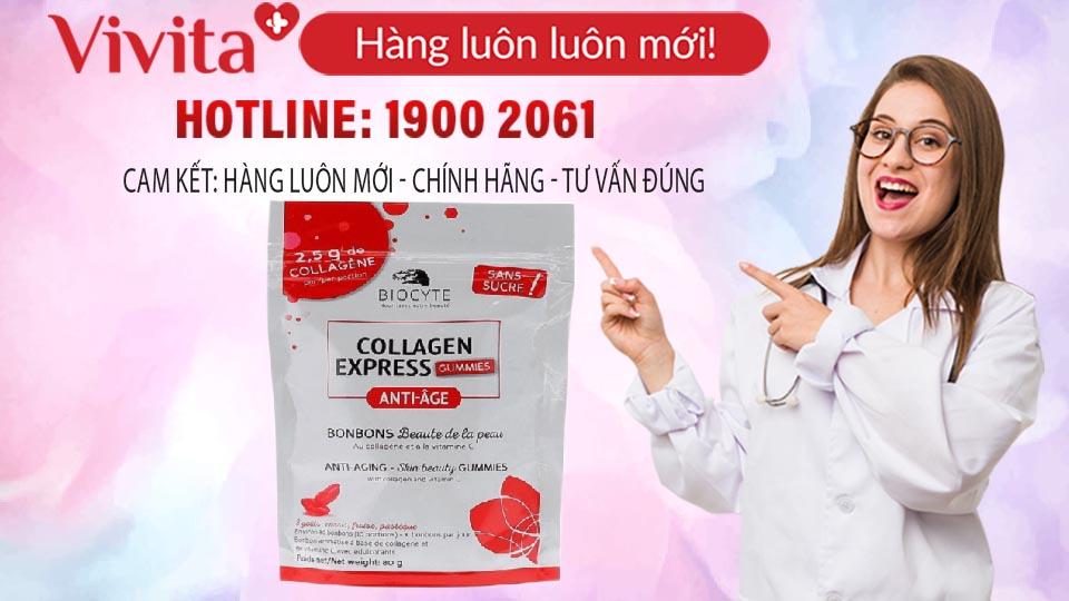 Kẹo Biocyte Collagen Express