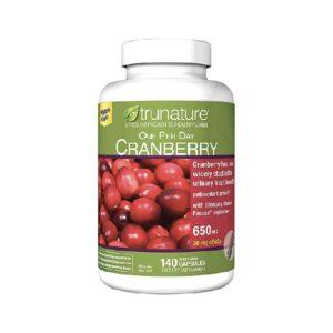 Viên Trunature Cranberry 650mg – Hỗ trợ viêm đường tiết niệu hiệu quả