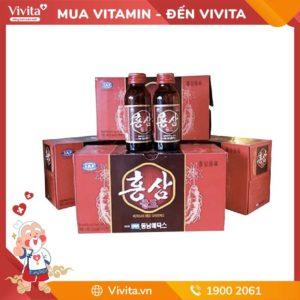 Nước hồng sâm cao cấp Korean Red Ginseng - Bổ sung dưỡng chất