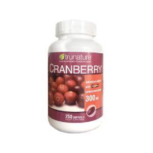 viên uống trunature cranberry 300mg