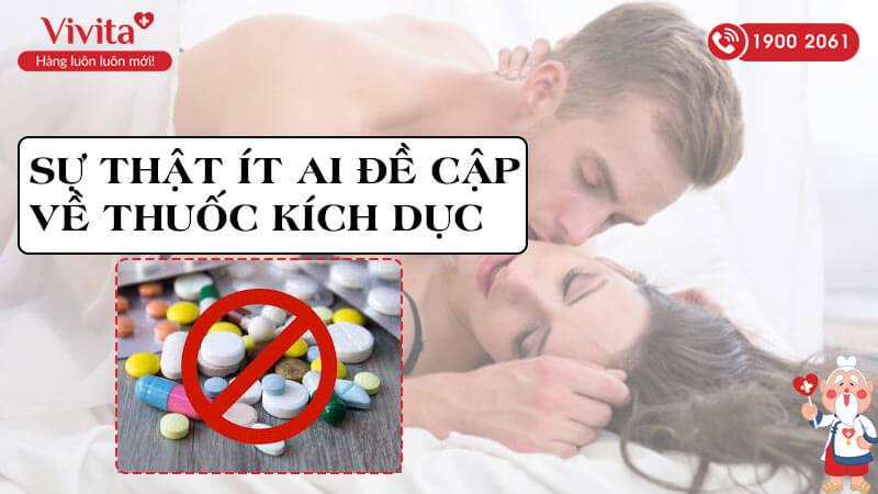 sự thật về thuốc kích dục cho nam giới