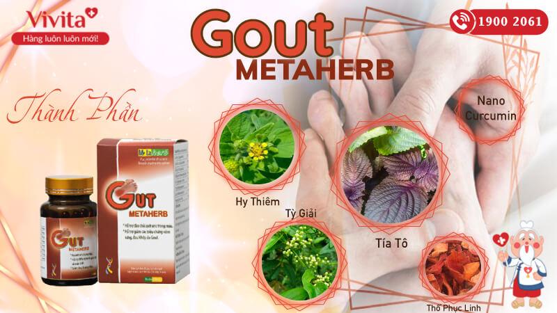 gout metaherb