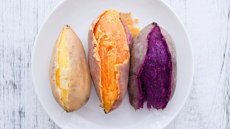 cách ăn khoai lang giảm cân