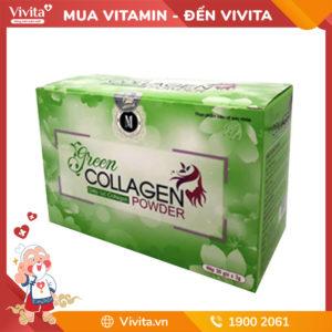 Green Collagen Powder giúp thanh lọc và làm đẹp da