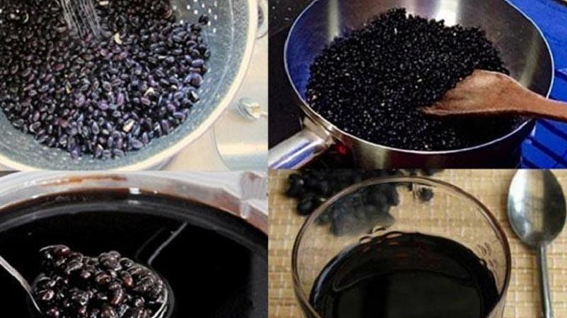 cách nấu nước đậu đen giảm cân