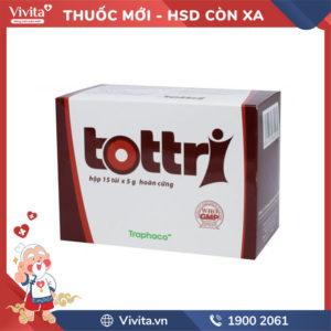 Thuốc trị trĩ Tottri Hộp 15 túi