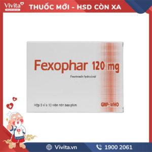 Thuốc chống dị ứng Fexophar 120mg Hộp 50 viên