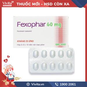 Thuốc chống dị ứng Fexophar 60mg Hộp 50 viên