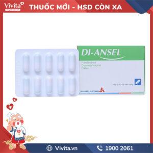 Thuốc giảm đau Di-Ansel Hộp 20 viên