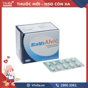 Thuốc giảm đau Savi Alvic Hộp 100 viên