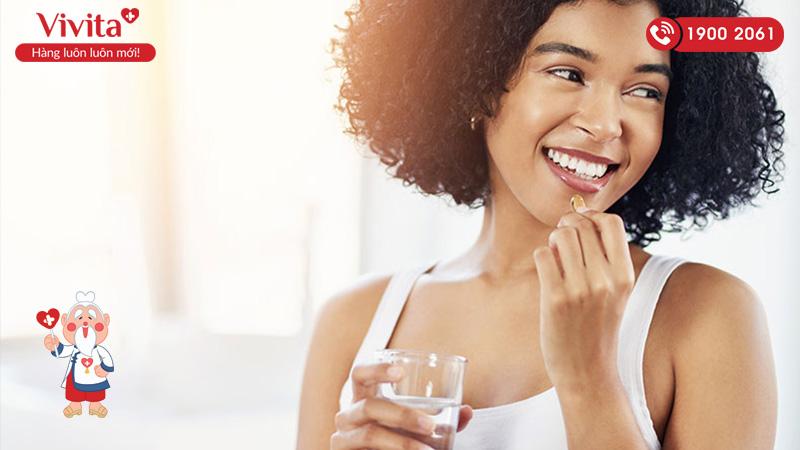 Ngăn rụng tóc bằng các viên uống bổ sung
