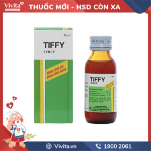 Siro trị cảm cúm cho trẻ em Tiffy Chai 30ml