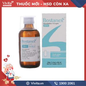 Siro trị viêm mũi dị ứng Bostanex Chai 60ml