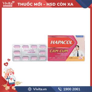 Thuốc Hapacol cảm cúm Hộp 100 viên