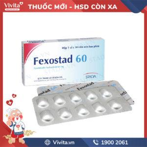 Thuốc chống dị ứng Fexostad 60 Hộp 10 viên