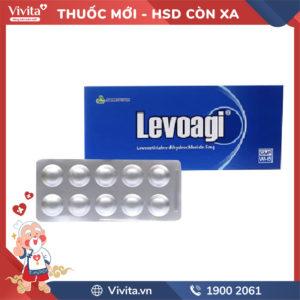 Thuốc chống dị ứng Levoagi 5mg Hộp 10 viên