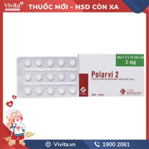 Thuốc chống dị ứng Polarvi 2 Hộp 30 viên
