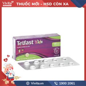 Thuốc chống dị ứng Telfast Kids Hộp 10 viên