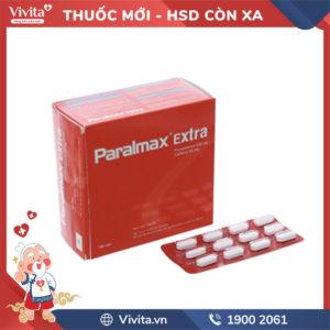 Thuốc giảm đau, hạ sốt Paralmax - Extra Hộp 180 viên