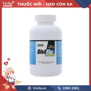 Thuốc trị cảm cúm Biviflu Chai 500 viên