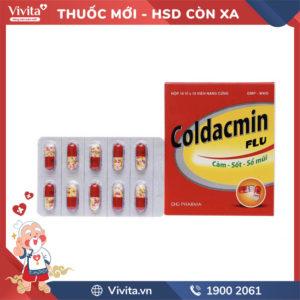 Thuốc trị cảm cúm Coldacmin Flu Hộp 100 viên