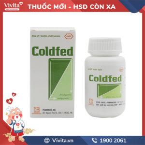 Thuốc trị cảm cúm Coldfed Chai 80 viên